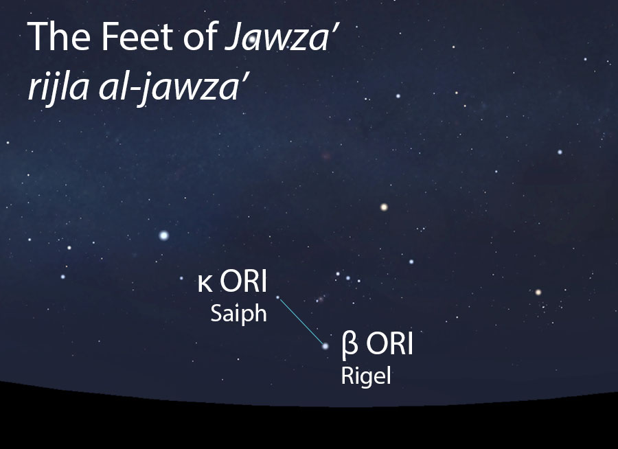 The Feet of Jawza'