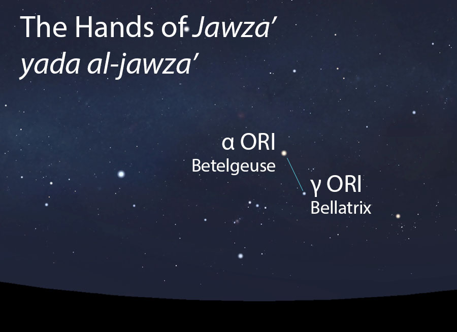 The Hands of Jawza'